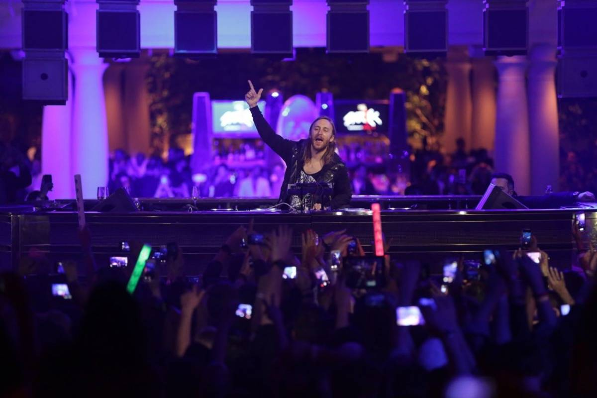 XS - Nightclub and Bar Platinum Party - David Guetta