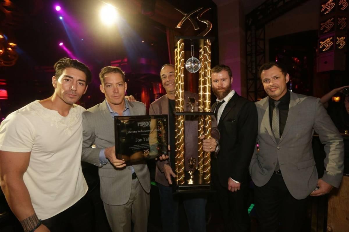 XS - Nightclub and Bar Platinum Party - Ronn Nicolli, Jesse Waits, Jon Taffer, John Wood, Yannick Mugnier