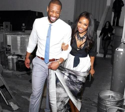 dwade engagement party
