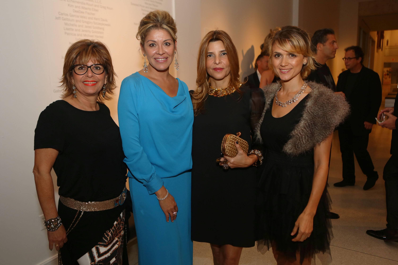 Nahila Campos, Malena Assing, Carmen Suarez, & Friend