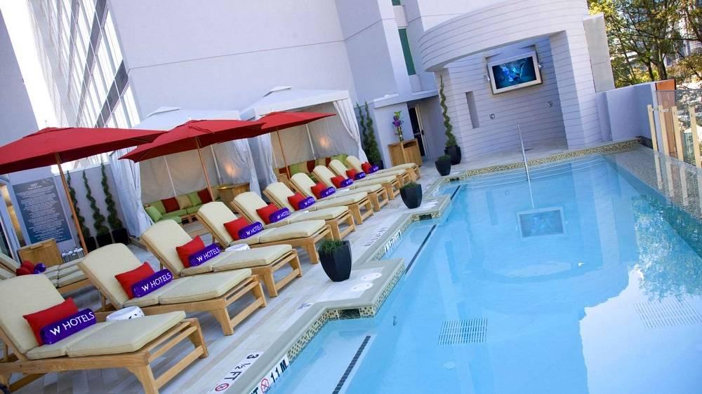 Top 5 Hotel Pool...W Hotel Atlanta Rooftop Pool