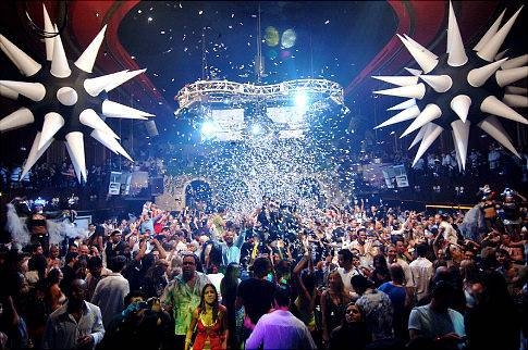 Mansion Nightclub in South Beach, Florida.  Credit: Handout