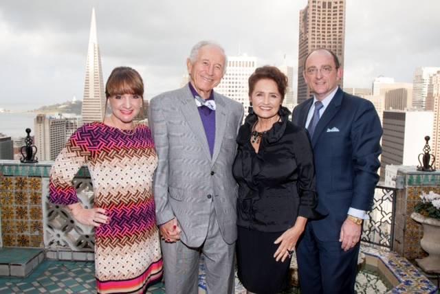Barbara Klein, Gerald Jampolsky MD, Dr. Diane Cirincione-Jampolsky, Tom Klein