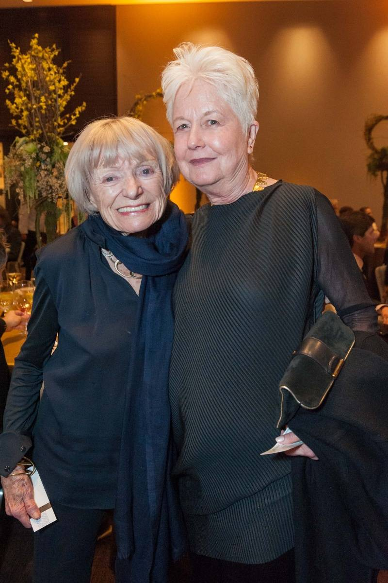Margrit Mondavi and Eleanor Coppola  Credit: Drew Altizer Photography