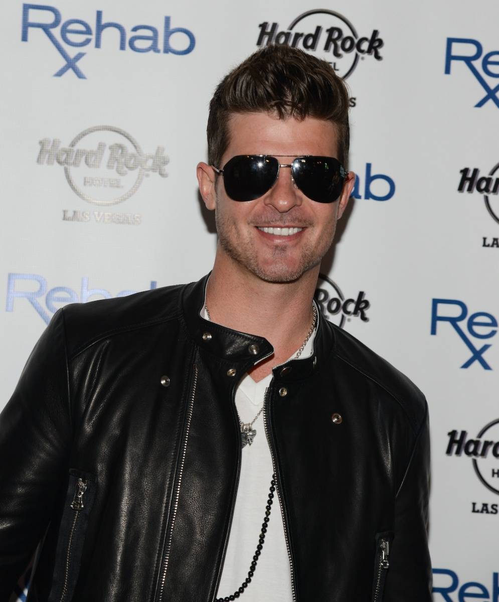 haute event robin thicke flo rida kick off rehab at the. Black Bedroom Furniture Sets. Home Design Ideas
