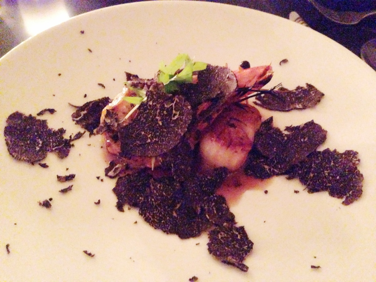 10 - Scallops with Truffle