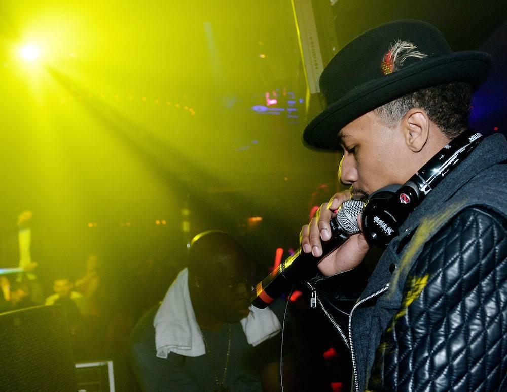 Nick Cannon DJs At 1 OAK Nightclub At The Mirage
