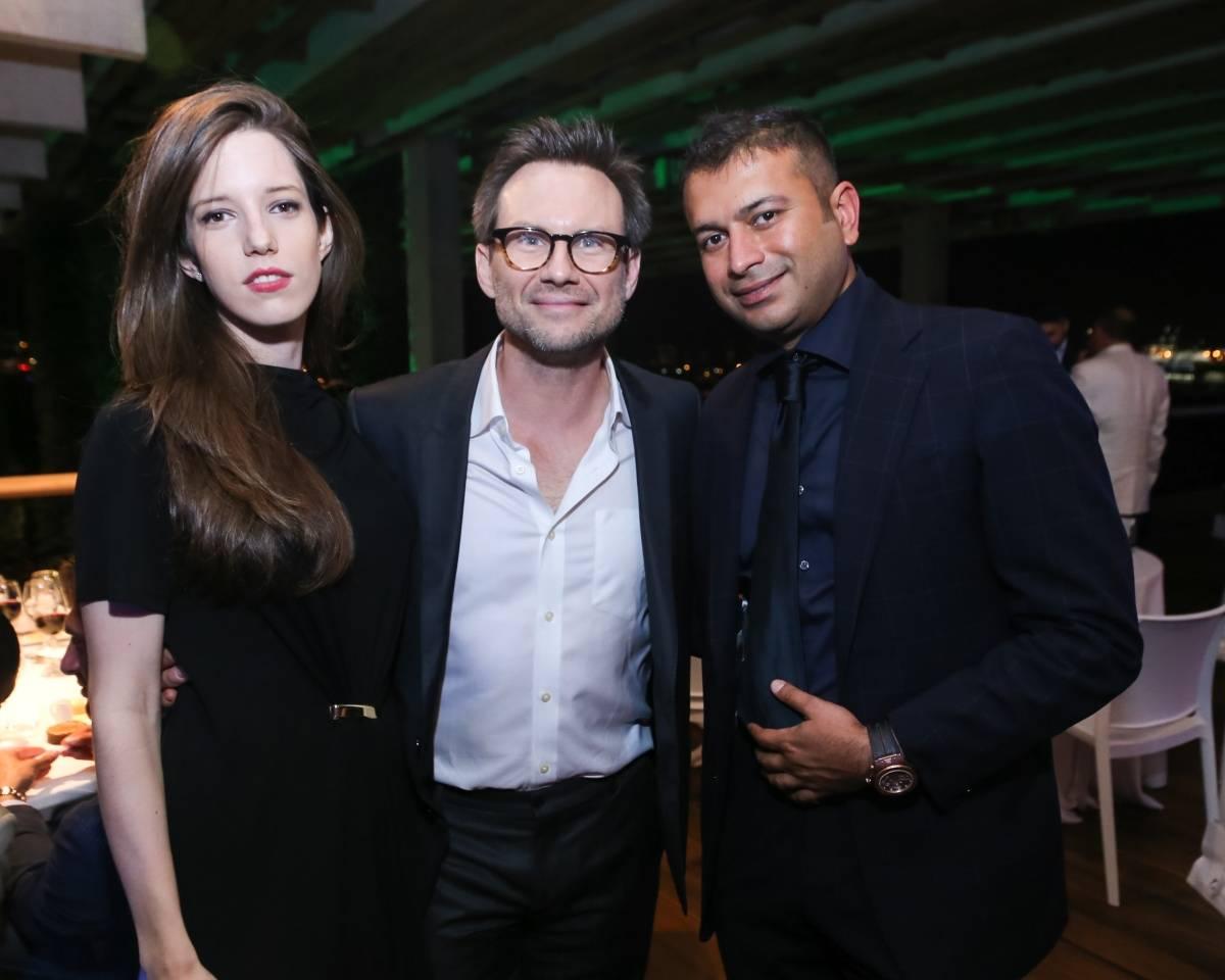 Brittany Lopez, Christian Slater, Kamal Hotchandani