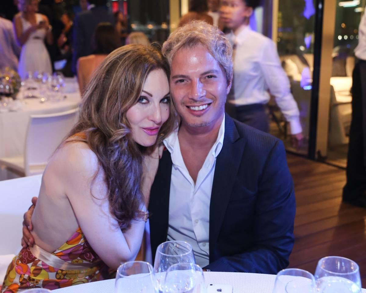 Tara Solomon and Nick D'Annunzio