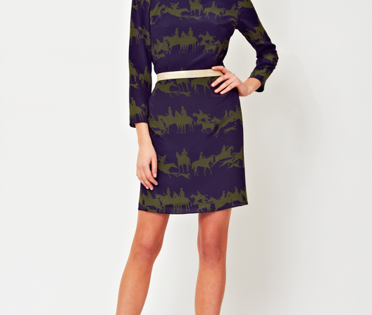 Ariana Rockefeller Fall 2014 Collection - Nadia Dress