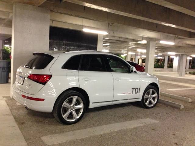 Audi Q5 in PAMM Garage