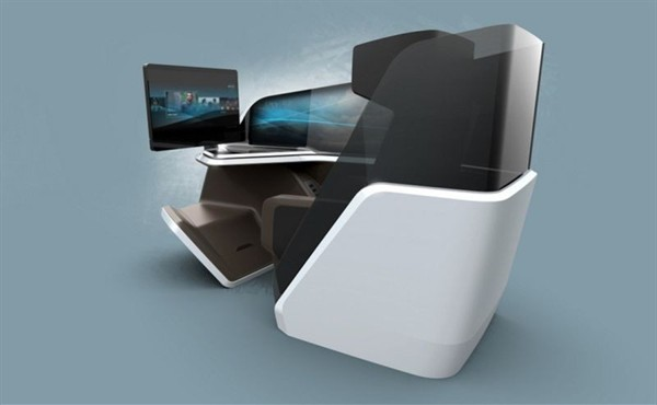BMW Design Works and Thales' Immersive Business Class Seat
