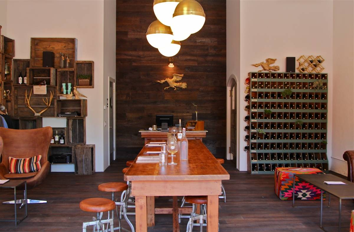 Banshee Wines Communal Table