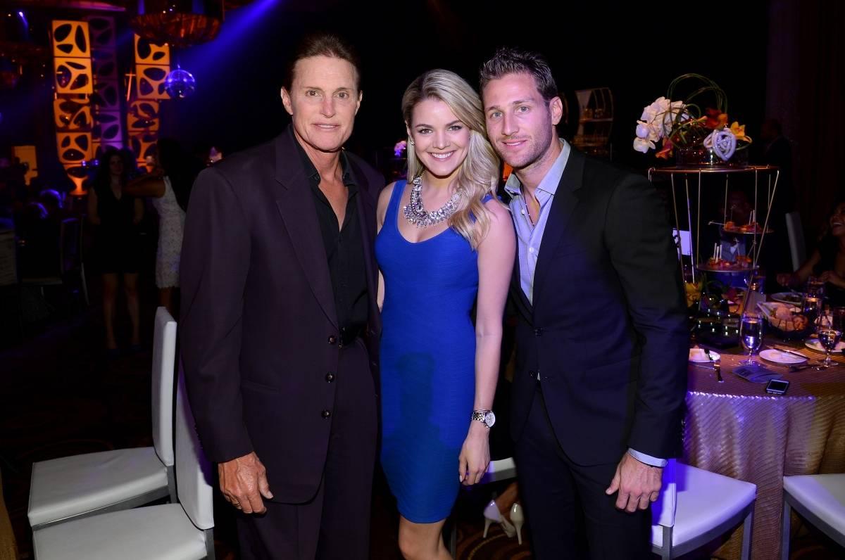 Bruce Jenner, Nikki Ferrell, Juan Pablo at MJCI Gala, ARIA Resort & Casino, Las Vegas, 4.4.14