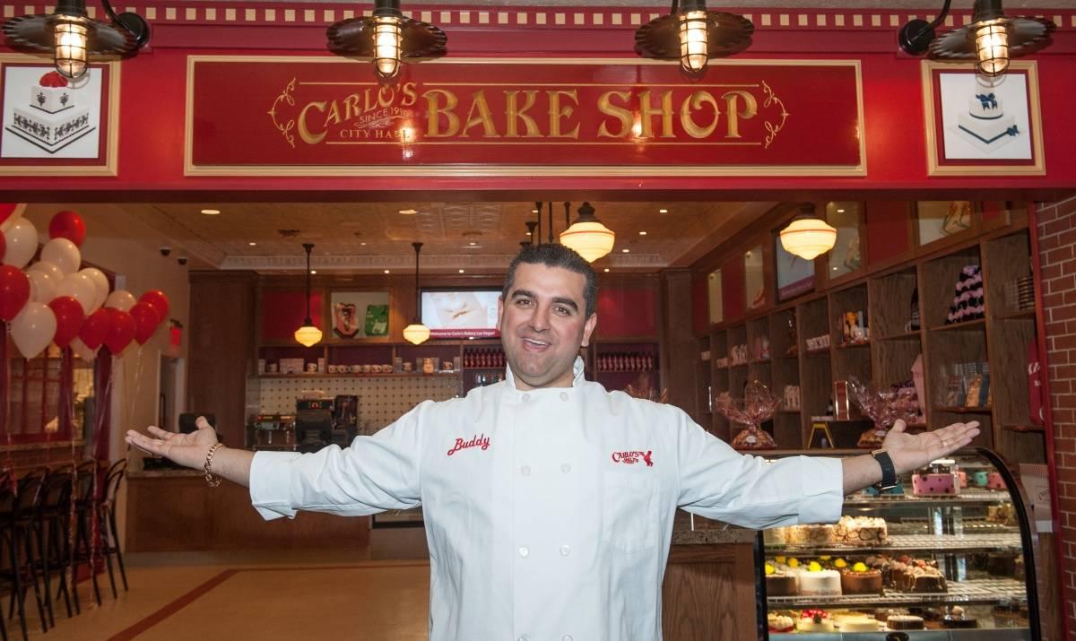 Cake Boss Grand opening Venetian Las Vegas