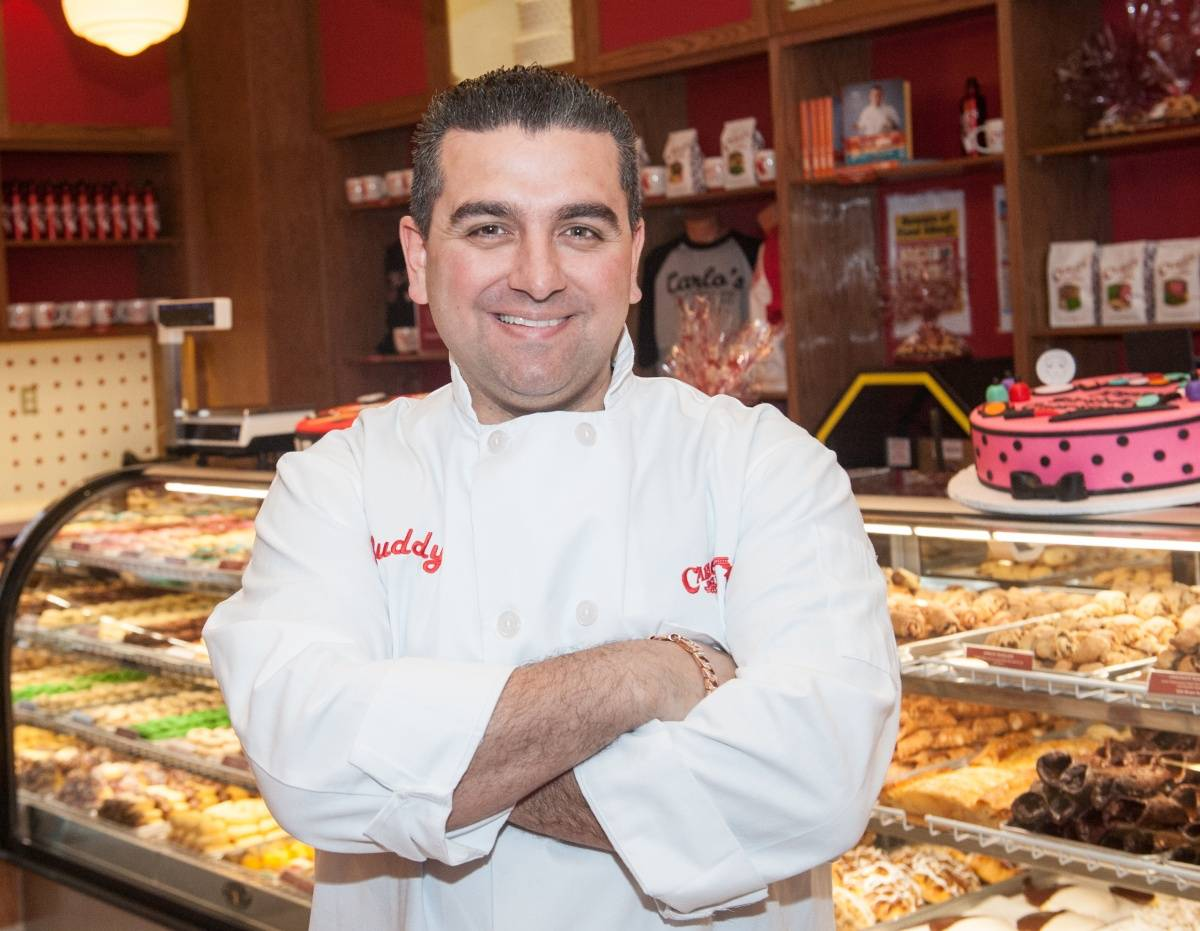 Cake Boss at new Carlos Bake Shop, Venetian Las Vegas