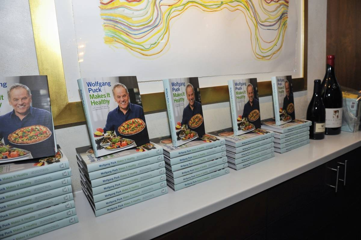 Chef's new book - Wolfgang Puck Makes It Healthy
