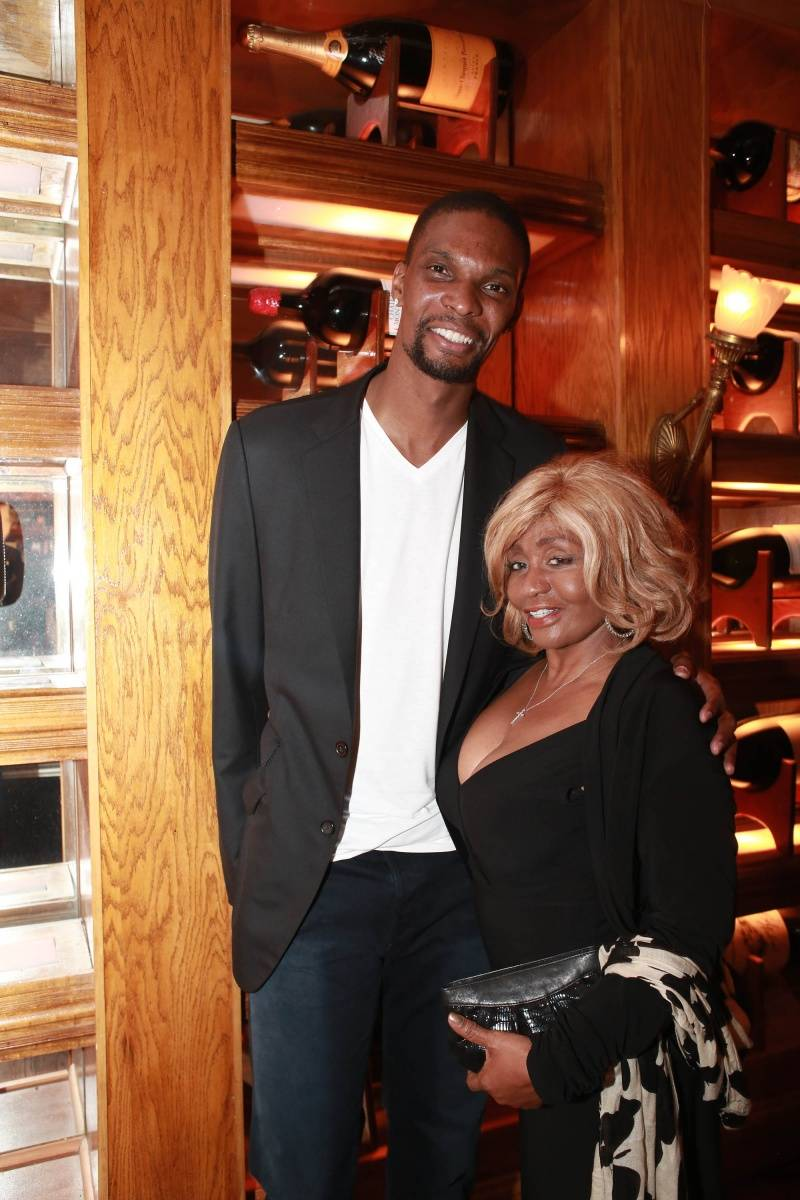 Chris Bosh, Janice Combs