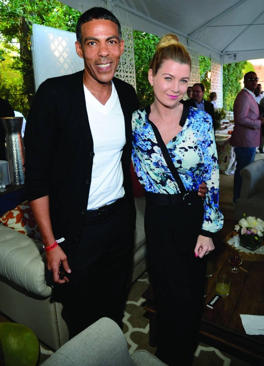 Chris Ivery + Ellen Pompeo