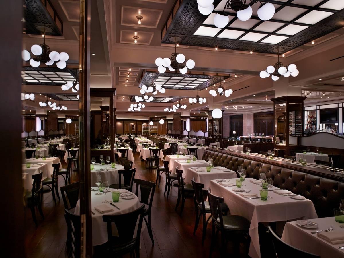 DB Brasserie Dining head on