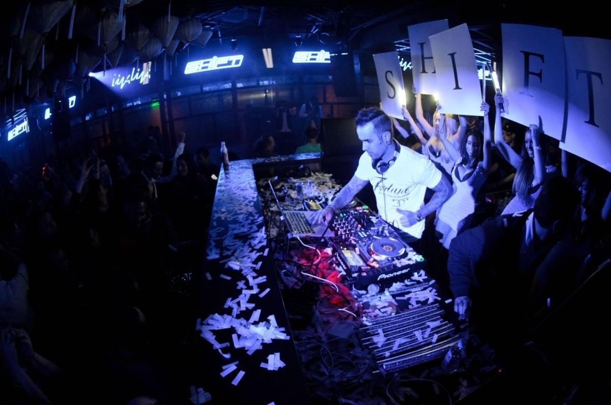 DJ Shift_Hakkasan Nightclub