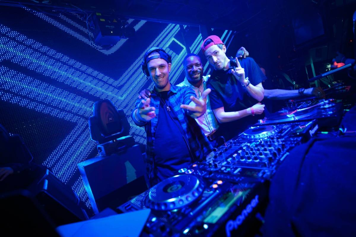 Eric D-Lux and Ross One at SKAM 10 Year