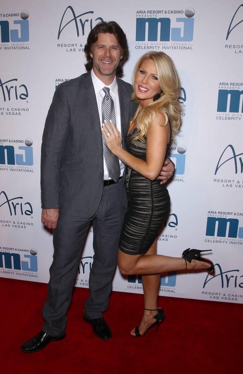 Gretchen Rossi & Slade Smiley at MJCI Gala ARIA Las Vegas 4.4.14 Credit Judy Eddy WENN