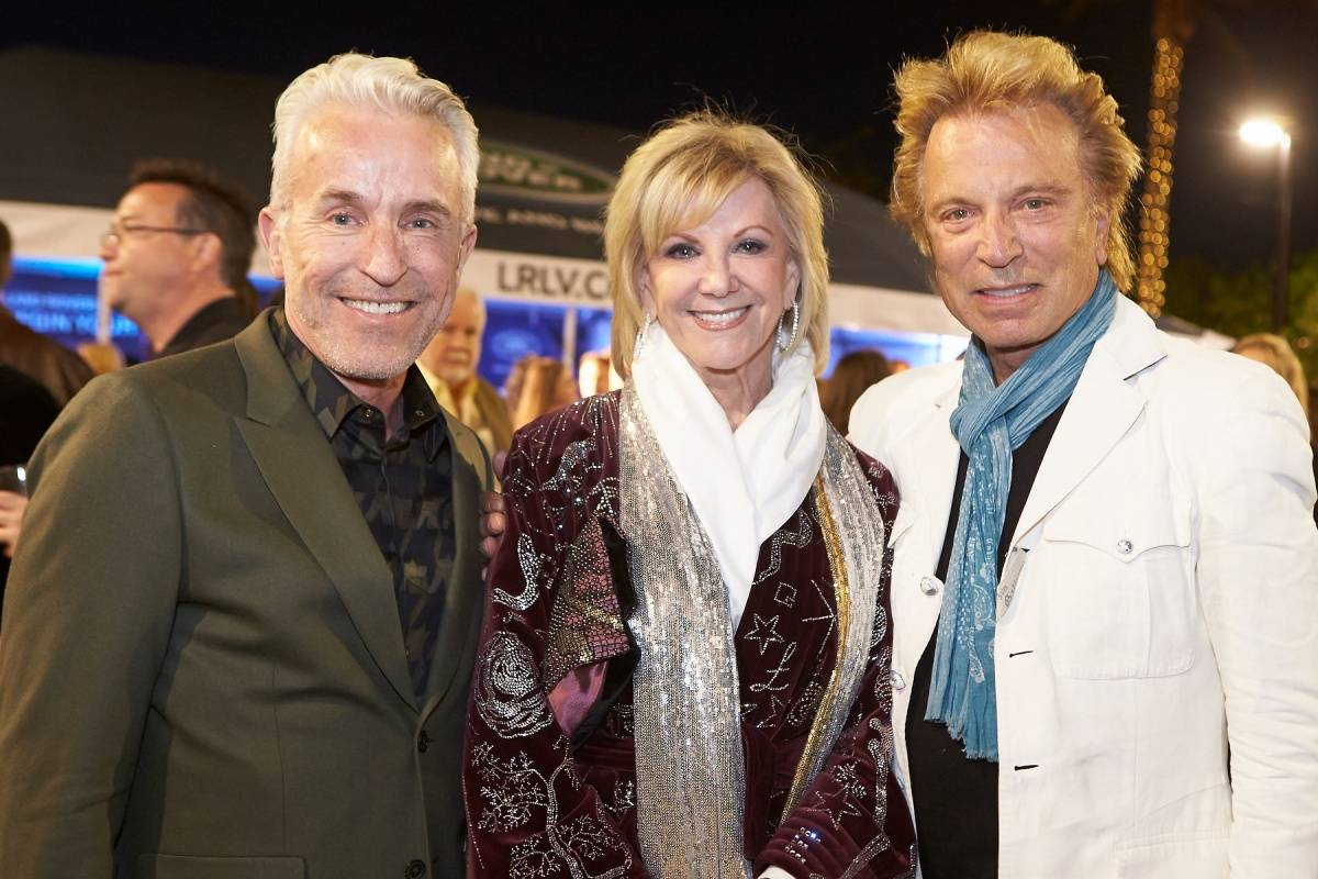 Guest, Elaine Wynn and Siegfried Fischbacher at World Premiere of THE TEMPEST 4.5.14 (C) Geri Kodey-The Smith Center for the Performing Arts