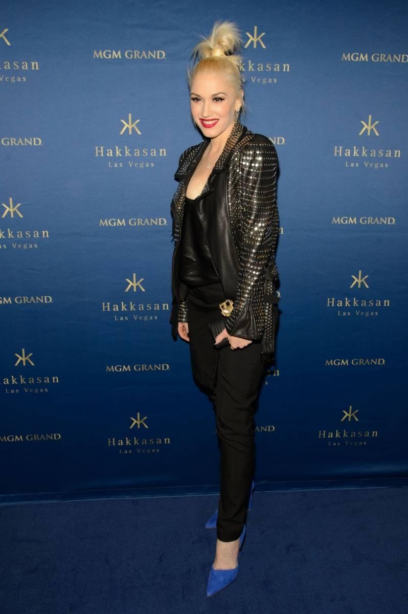 Gwen Stefani_Blue Carpet 2_Hakkasan Las Vegas