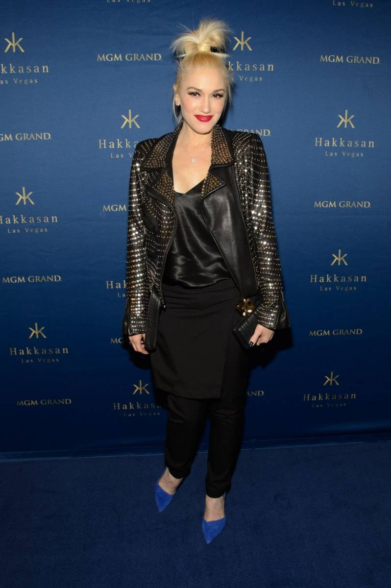 Gwen Stefani_Blue Carpet_Hakkasan Las Vegas