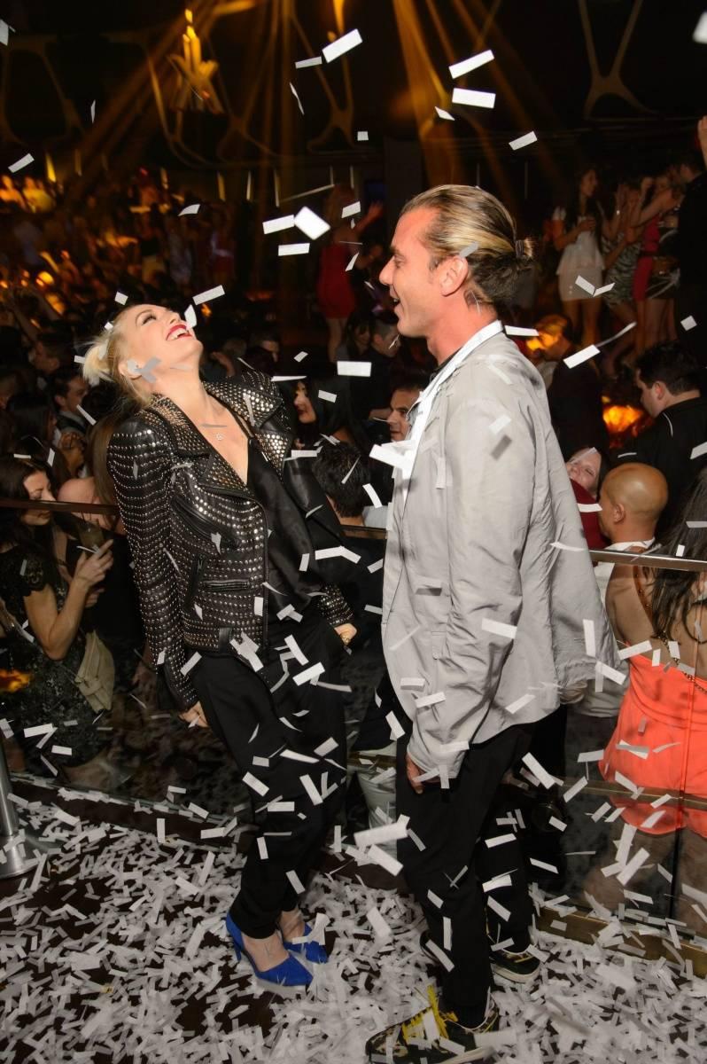 Gwen and Gavin_Confetti 2_Hakkasan Las Vegas Nightclub