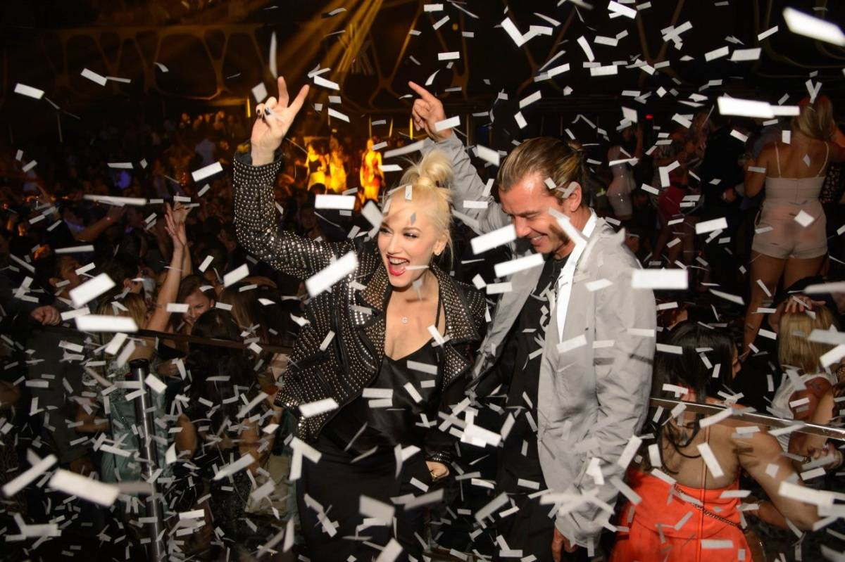 Gwen and Gavin_Confetti 3_Hakkasan Las Vegas Nightclub