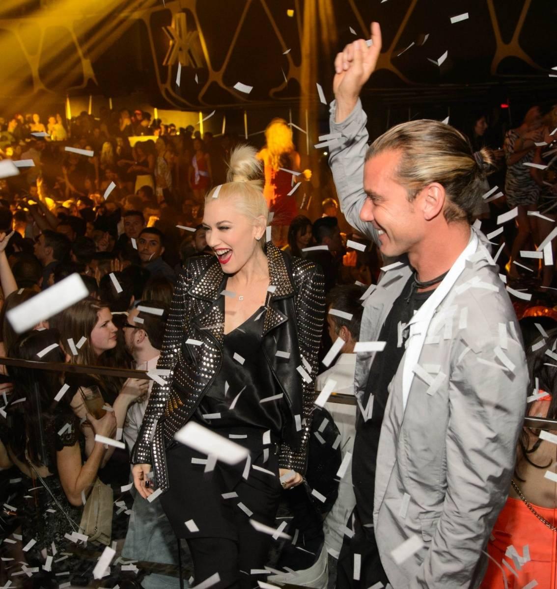 Gwen and Gavin_Confetti_Hakkasan Las Vegas Nightclub