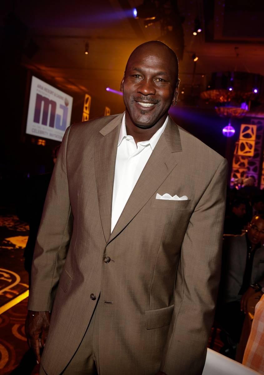Host Michael Jordan at MJCI Gala, ARIA Resort & Casino, Las Vegas, 4.4.14