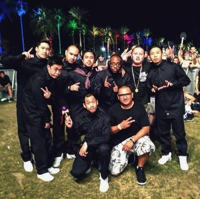 Jabbawockeez at Coachella