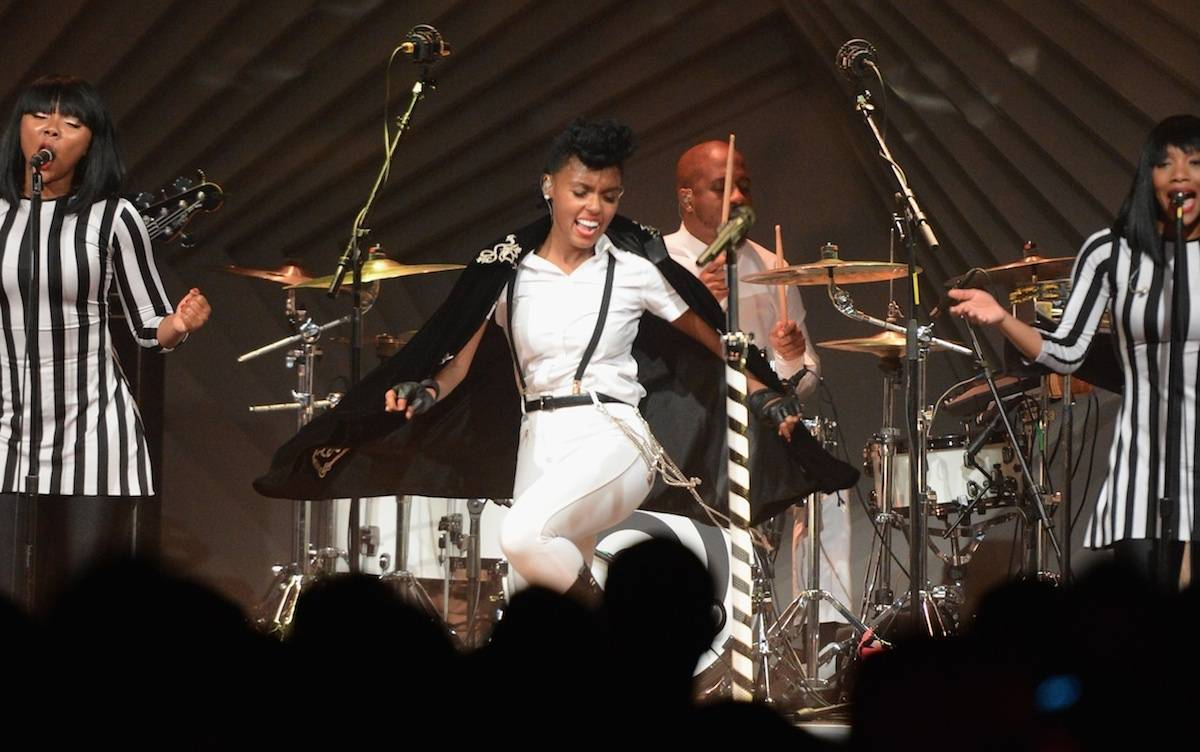 Janelle Monae Performs During the Audi A3 Launch Event in Los Angeles