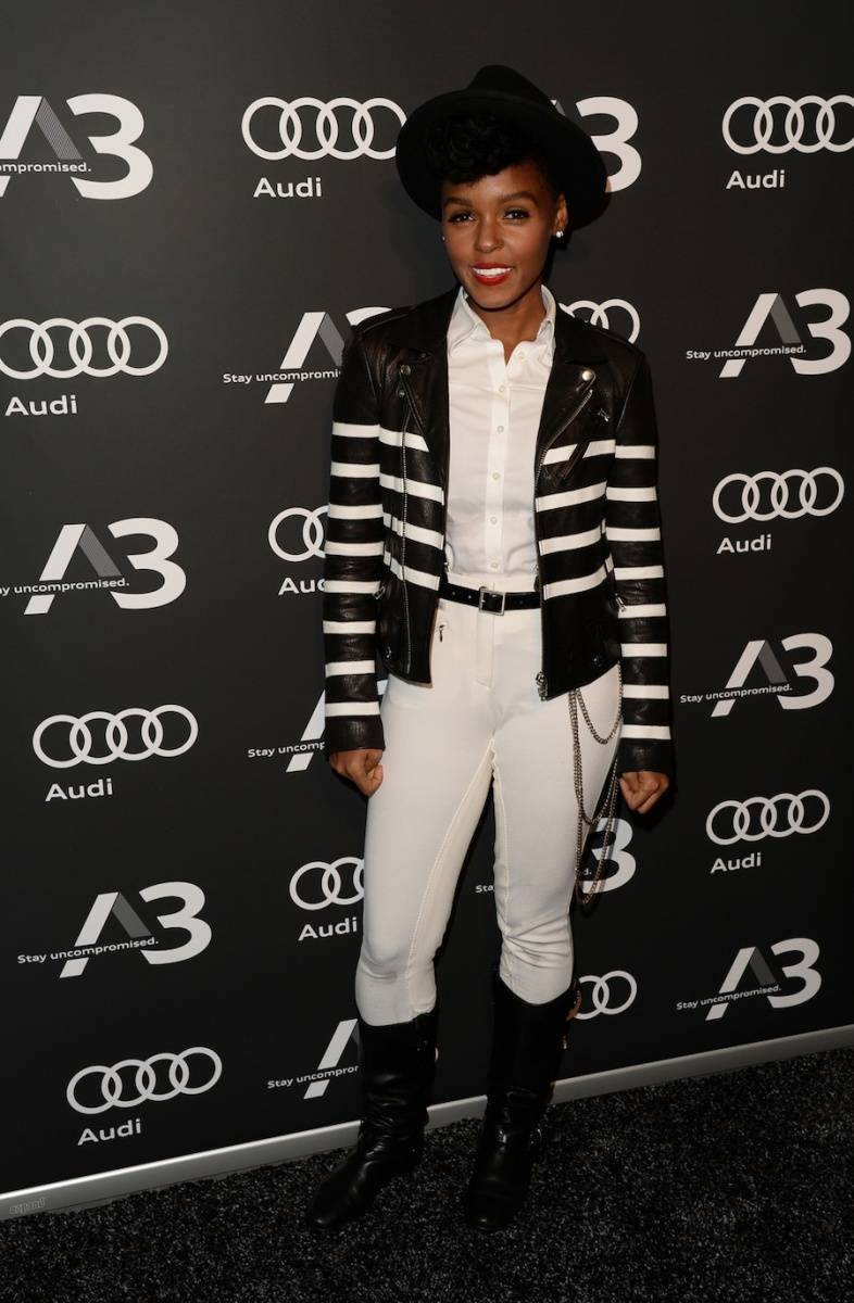 Janelle Monae at the Audi A3 Launch Event in Los Angeles
