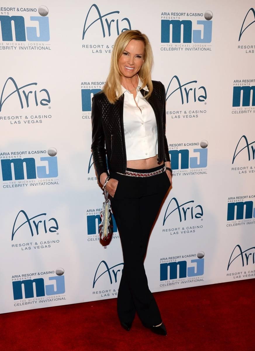 Janet Jones Gretzky at MJCI Gala ARIA Las Vegas 4.4.14