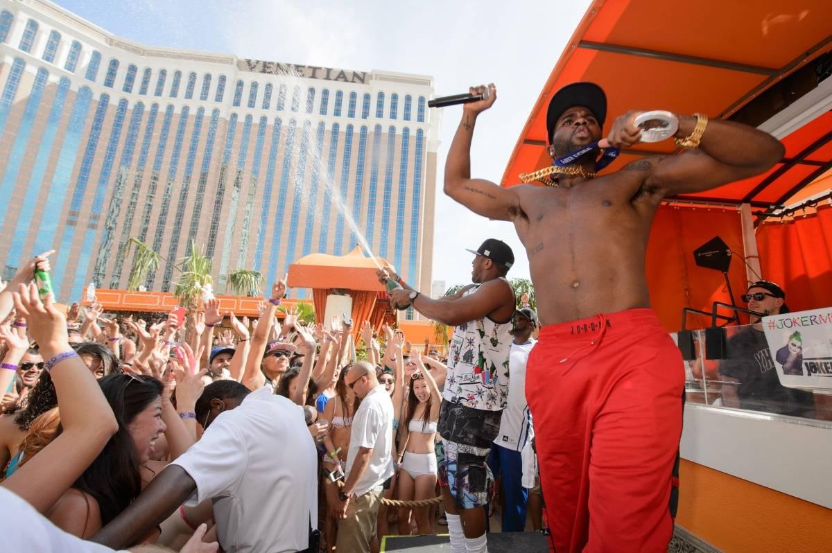 Jason Derulo Performs at TAO Beach Season Opening