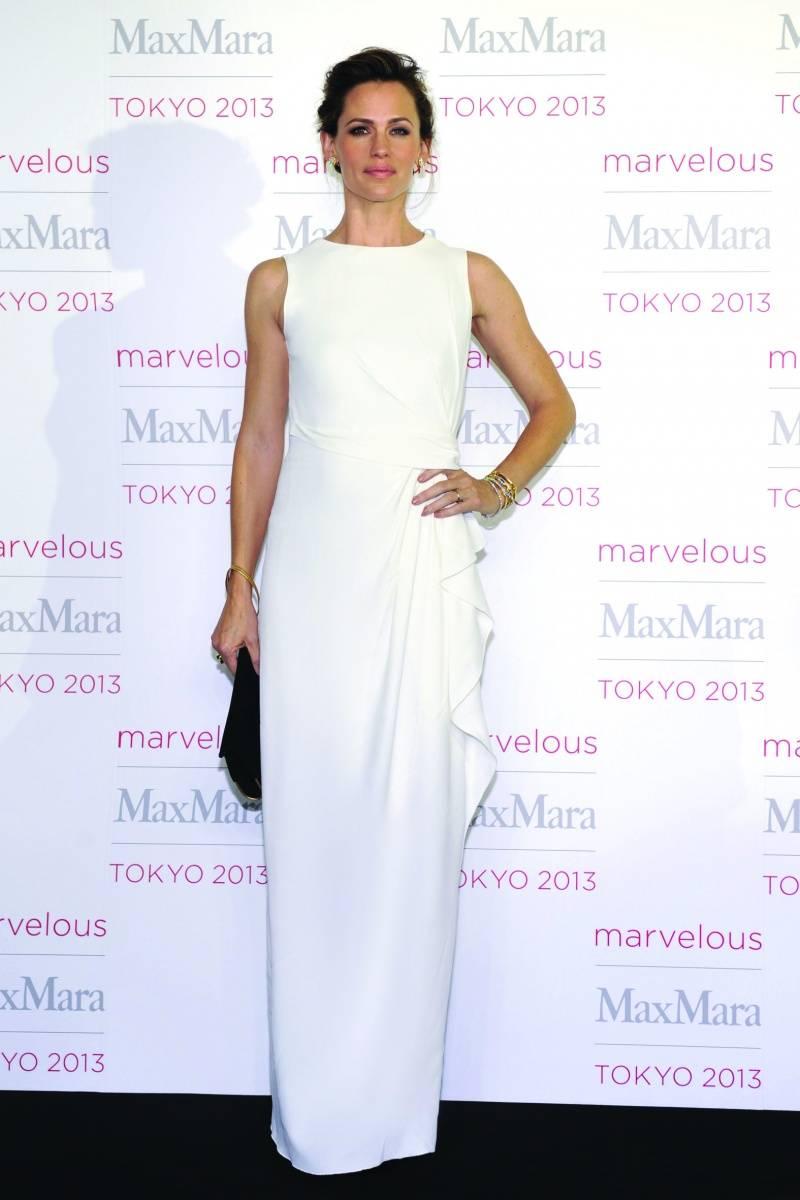 Jennifer Garner, courtesy of Max Mara