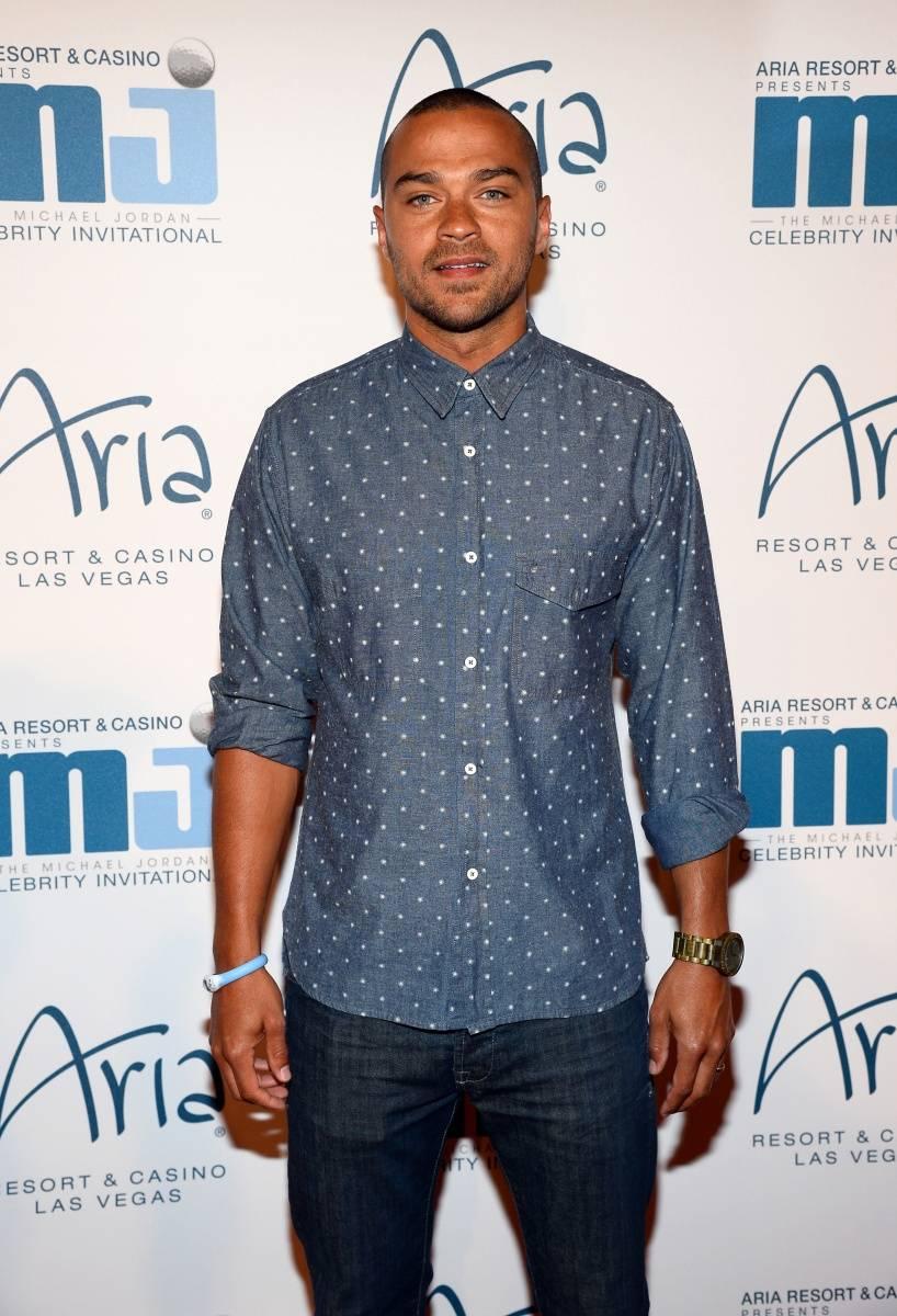 Jesse Williams at MJCI Gala ARIA Las Vegas 4.4.14
