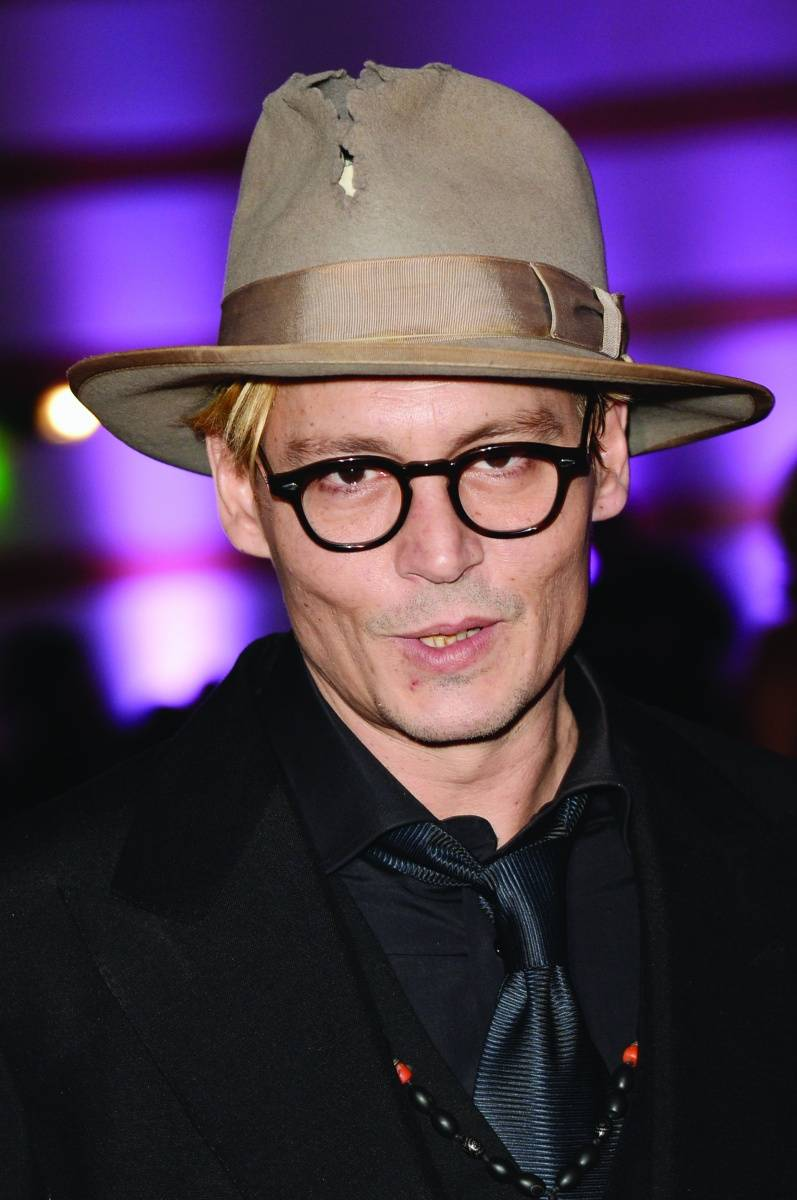 Johnny Depp, Getty Images for Art of Elysium