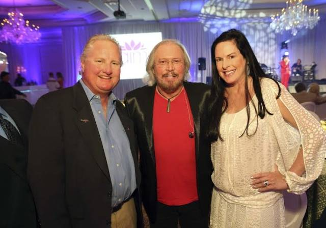 Jon Dave Newman, Barry Gibb, and Julie Rudolph
