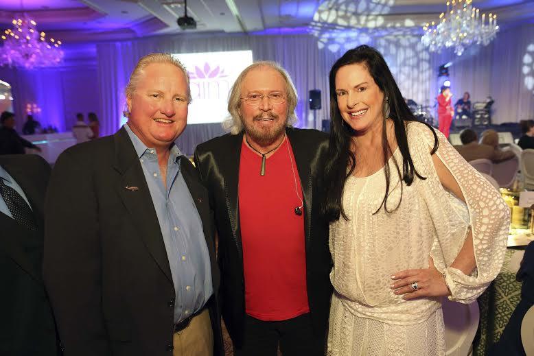 Jon Dave Newman, Barry Gibb, and Julie Rudolph