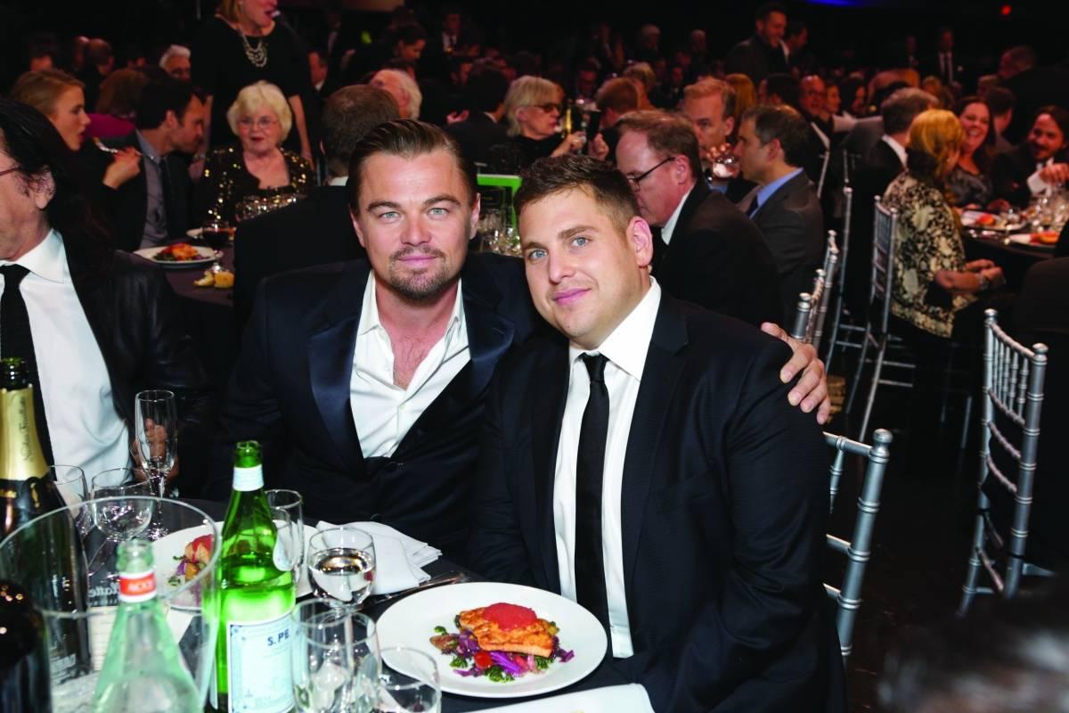 Jonah Hill and Leonardo DiCaprio 2