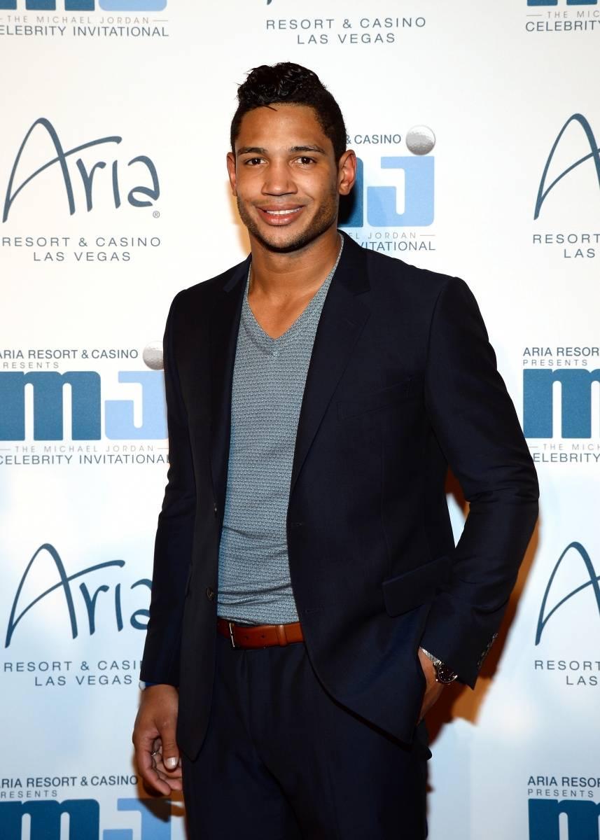 Josh Freeman at MJCI Gala ARIA Resor & Casino Las Vegas 4.4.14