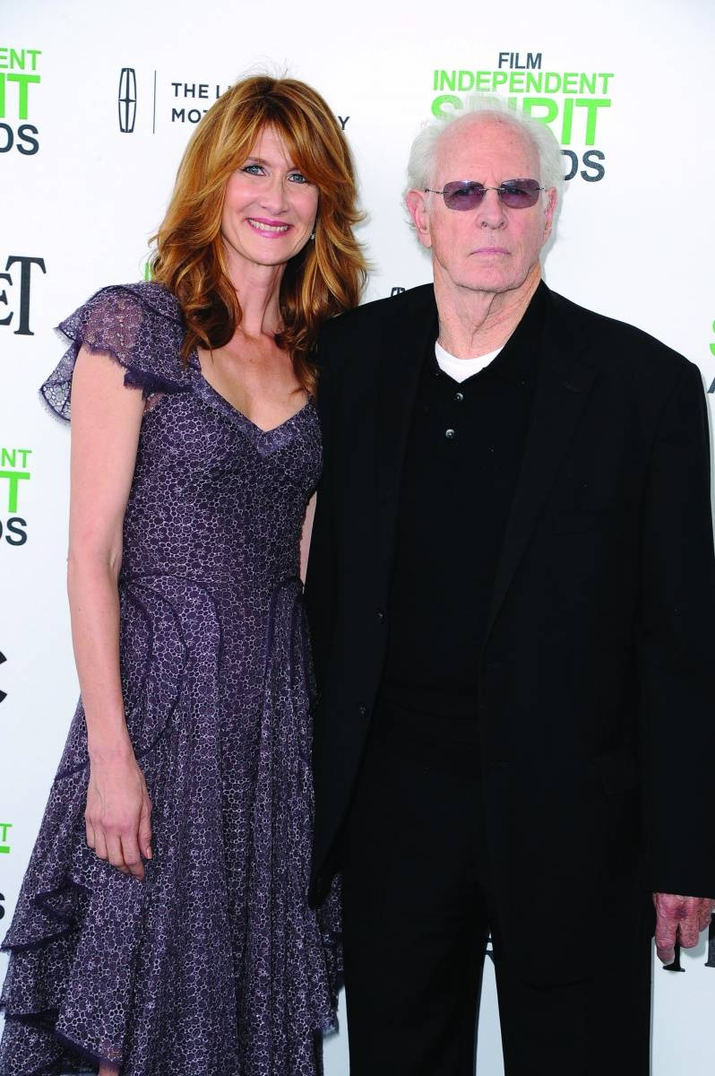 Laura and Bruce Dern