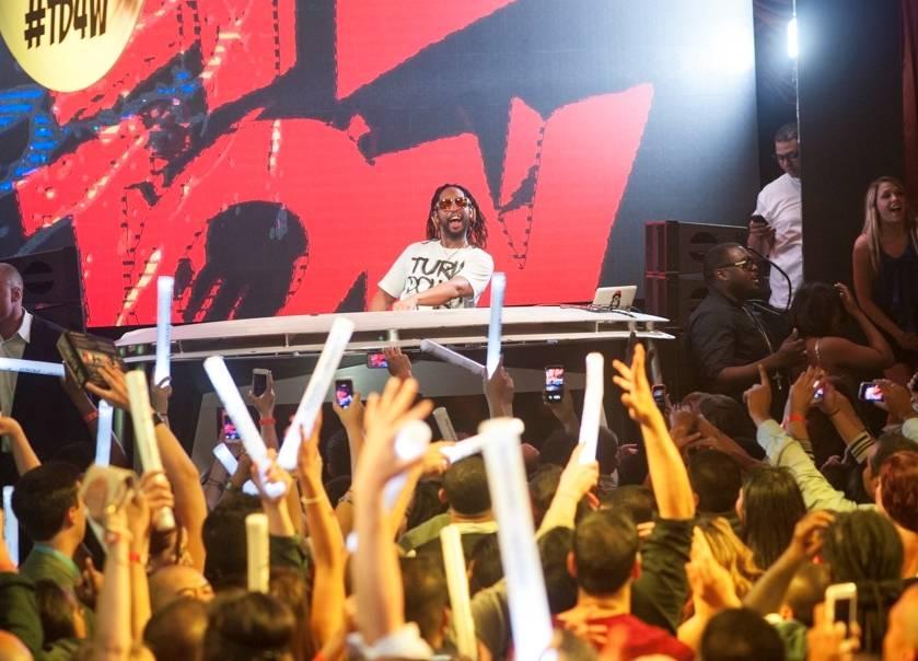 Lil Jon at Surrender Nightclub