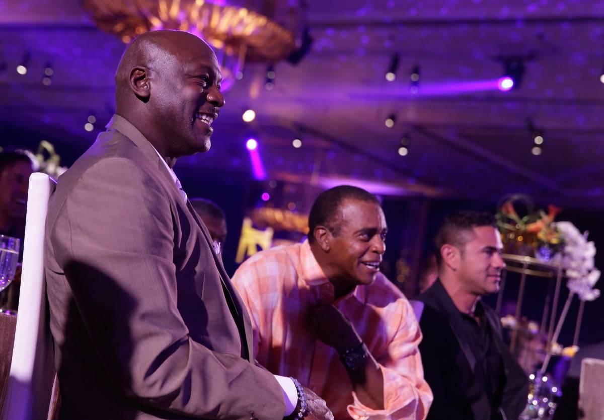 MJ, Ahmad Rashad at MJCI Gala, ARIA Resort & Casino, Las Vegas, 4.4.14