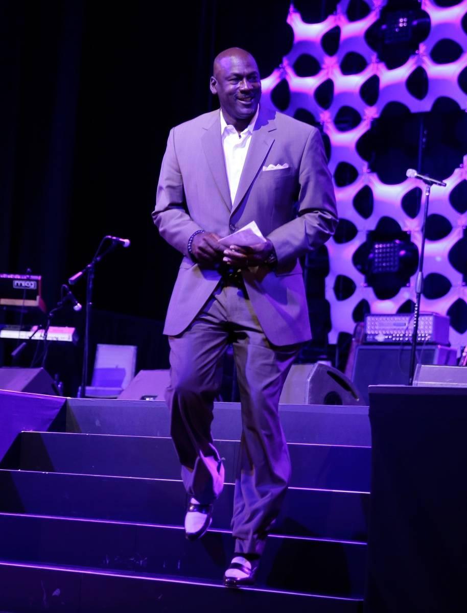 MJ at MJCI Gala ARIA Las Vegas 4.4.14